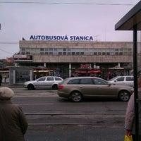 Photo taken at Autobusová stanica Mlynské nivy | Mlynské Nivy Bus Station by Ivan K. on 11/24/2011