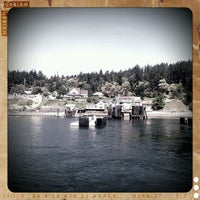Photo taken at Orcas Island Ferry Terminal by Alex G. on 5/19/2011