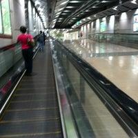 Photo taken at Serangoon MRT Interchange (NE12/CC13) by Mark H. on 12/4/2011