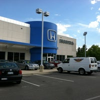 Photo taken at Crown Honda of Southpoint by Cherie C. on 6/7/2012