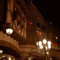 Photo taken at Biergarten Restaurant by Darcy F. on 4/18/2012