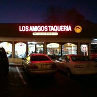 Photo taken at Taqueria Los Amigos 2 by Jerome C. on 12/4/2011