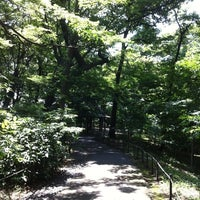 Photo taken at 三井の森公園 by ICHIRO F. on 7/9/2012