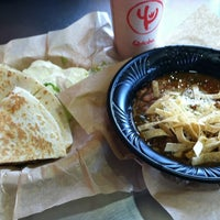 Photo taken at Qdoba Mexican Grill by Joey M. on 4/18/2012