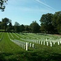 Photo taken at Alexandria National Cemetery by Noelia P. on 10/16/2011