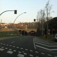 Photo taken at Túnel de la Rovira by TAXI650 BAGES 6. on 3/27/2012