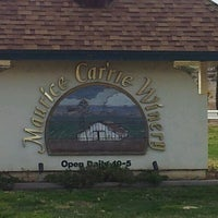Photo taken at Maurice Car'rie Winery by Celeste S. on 2/12/2012
