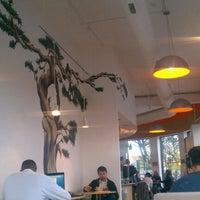 Photo taken at Ch'ava Café by Christina on 10/29/2011