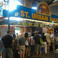 Photo taken at St. Urbain Bagel by Christal A. on 8/13/2011
