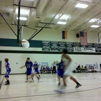 Photo taken at Mohave Middle School by djJUNE A. on 11/17/2011