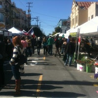 Photo taken at Divisadero Farmers' Market by David F. on 2/19/2012