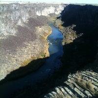 Photo taken at Malad Gorge State Park by Matthew P. on 10/22/2011