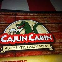"""Photo taken at Cajun Cabin by B """"Pha"""" D. on 8/22/2012"""