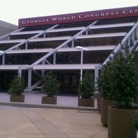 Photo taken at Georgia World Congress Center (GWCC) by Rich B. on 5/16/2011
