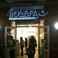 Photo taken at FroZenYo by Justin T. on 3/19/2011