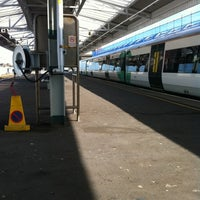Photo taken at Eastbourne Railway Station (EBN) by kila e. on 10/18/2011