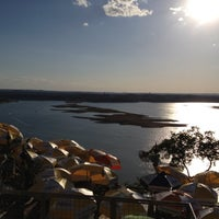 Photo taken at The Oasis on Lake Travis by Kim L. on 4/22/2012