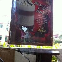 Photo taken at Bona Coffee by Mark R. on 7/22/2011