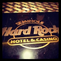 Photo taken at Seminole Hard Rock Hotel & Casino by Mark S. on 5/6/2012