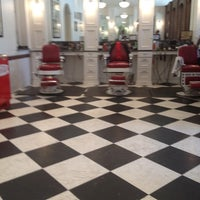 Photo taken at Red's Classic Barber Shop Co. by Team Infinite on 7/29/2012