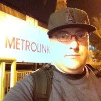 Photo taken at Metrolink Riverside-Downtown Station by Jonny B. on 5/2/2012