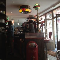 Photo taken at Le Fil Rouge Café by Nadia K. on 5/29/2012