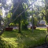 Photo taken at Tượng đài Tết Mậu Thân by wetfoot  on 10/23/2011