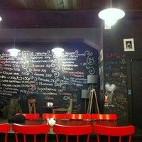 Photo taken at Магазин и большое кафе студии Артемия Лебедева by Anton U. on 2/9/2012