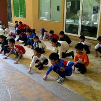 Photo taken at Greenview Islamic School Bukit Jelutong by Ali A. on 5/6/2012