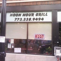 Photo taken at Noon Hour Grill by ChiTownSports on 5/26/2012