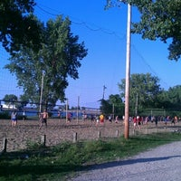 Photo taken at Whiskey Island Volleyball Courts by John R. on 8/22/2012