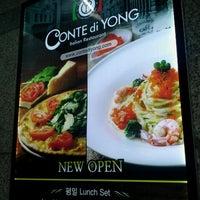 Photo taken at Conte di Yong by Jenn H. on 7/6/2012