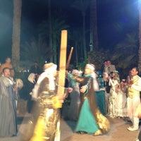 Photo taken at Cataract Pyramids Resort Giza by Bassel S. on 3/15/2012