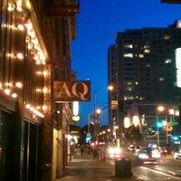 Photo taken at AQ Restaurant & Bar by alison on 4/7/2012