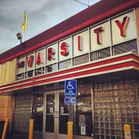 Photo taken at The Varsity by Matt W. on 6/25/2012