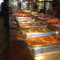 Photo taken at Manna's Soul Food Buffet by Kevin S. on 6/18/2012