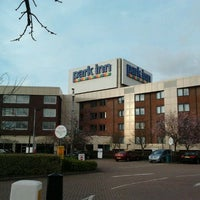 Photo taken at Park Inn by Radisson Hotel and Conference Centre London Heathrow by Ayuni A. on 3/5/2012