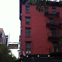 Photo taken at Pete's Tavern by Alec M. on 6/30/2012