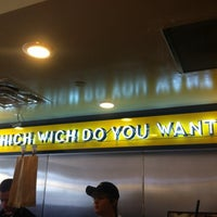 Photo taken at Which Wich? Superior Sandwiches by Deepak A. on 8/10/2012