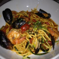 Photo taken at Romano's Macaroni Grill by Jennifer M. on 7/16/2012