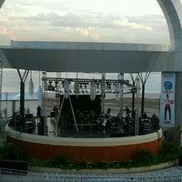 Photo taken at Anfiteatro da Ponta Negra by Viviany A. on 5/26/2012