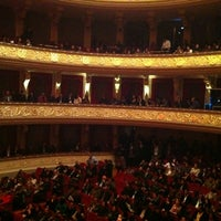 Photo taken at Teatro Municipal de Lima by Miguel André D. on 8/4/2012