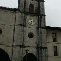 Photo taken at Colegiata de Pravia by Pablo Á. on 6/2/2012