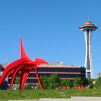 Photo taken at Olympic Sculpture Park by Jennifer W. on 5/15/2012