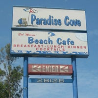 Photo taken at Paradise Cove Beach Cafe by irene p. on 8/22/2012