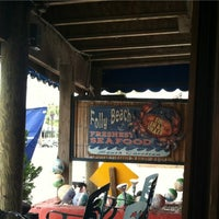 Photo taken at The Folly Beach Crab Shack by alexander d. on 5/7/2012