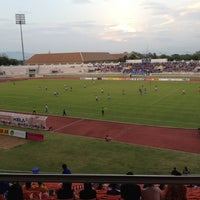 Photo taken at 700th Anniversary Chiangmai Sports Complex by Santi P. on 5/19/2012