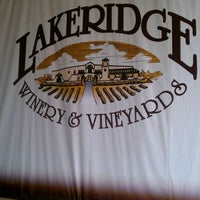 Photo taken at Lakeridge Winery & Vineyards by Susan M. on 3/31/2012