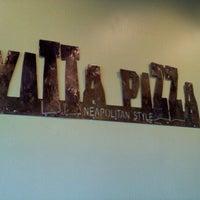 Photo taken at Vitta Pizza by Brady Z. on 10/1/2011