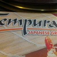 Photo taken at Tempura Japanese Grill by Katrina on 3/28/2012